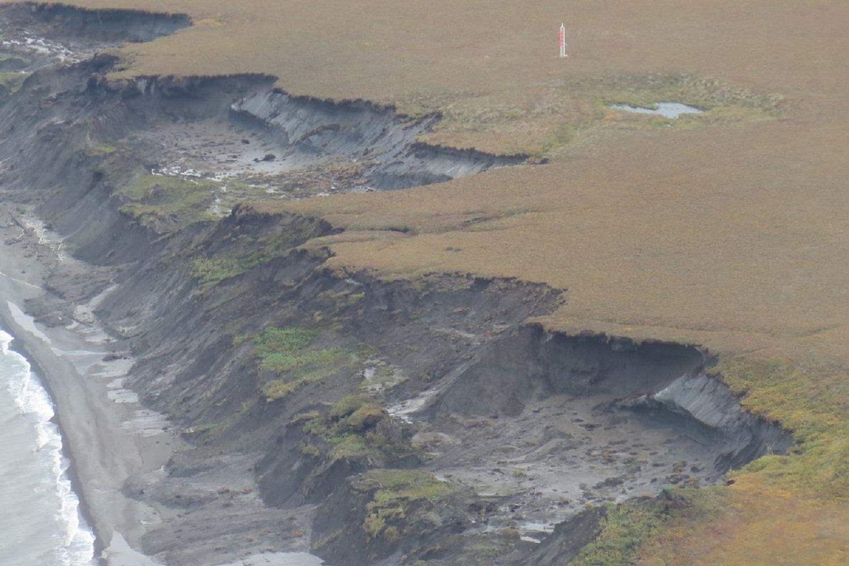 globe permafrost